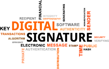 Digital signature, key, transactions, stamp, hash, sender