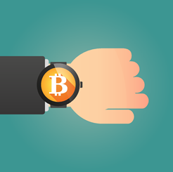 Bitcoin Wrist Watch