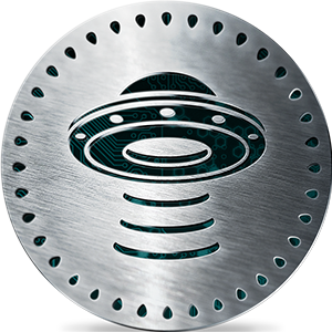 Uniform Fiscal Object (UFO) coin