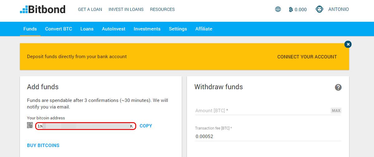 borrow to buy bitcoin