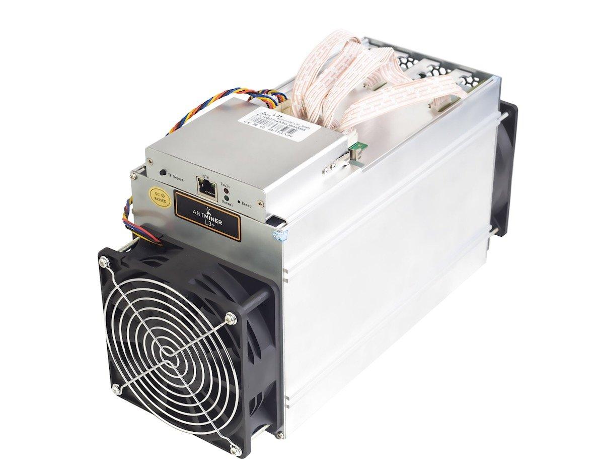 Antminer L3+ (504MH/s) Litecoin Scrypt Mining ASIC ...