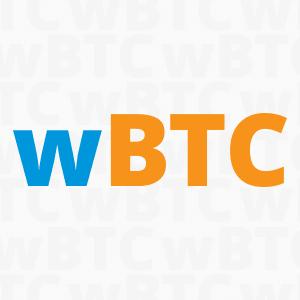 Logo wBTC
