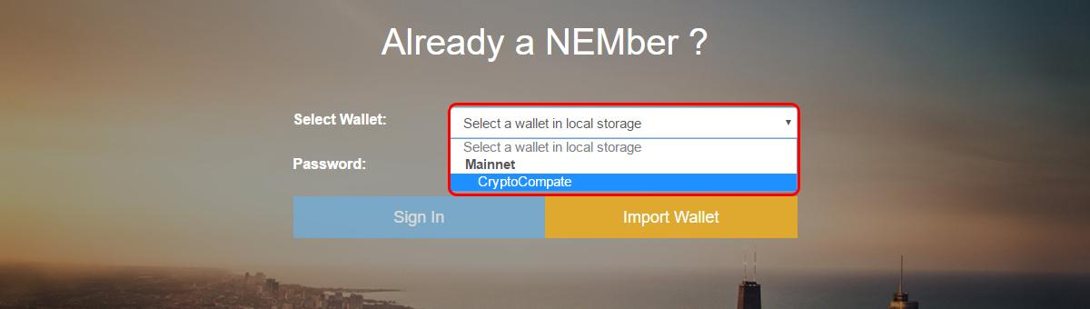 How to use the NEM Nano Wallet | CryptoCompare com