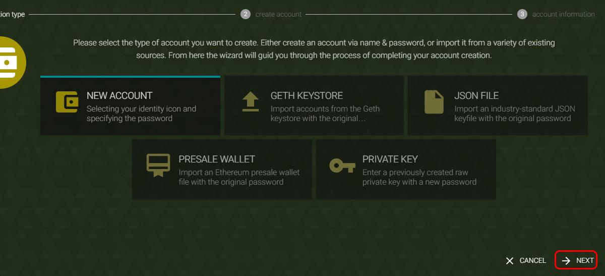 ethereum presale wallet