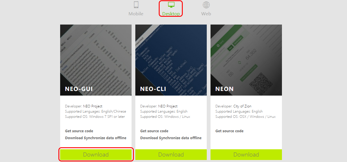 How to Create and Use the NEO Desktop Wallet | CryptoCompare com