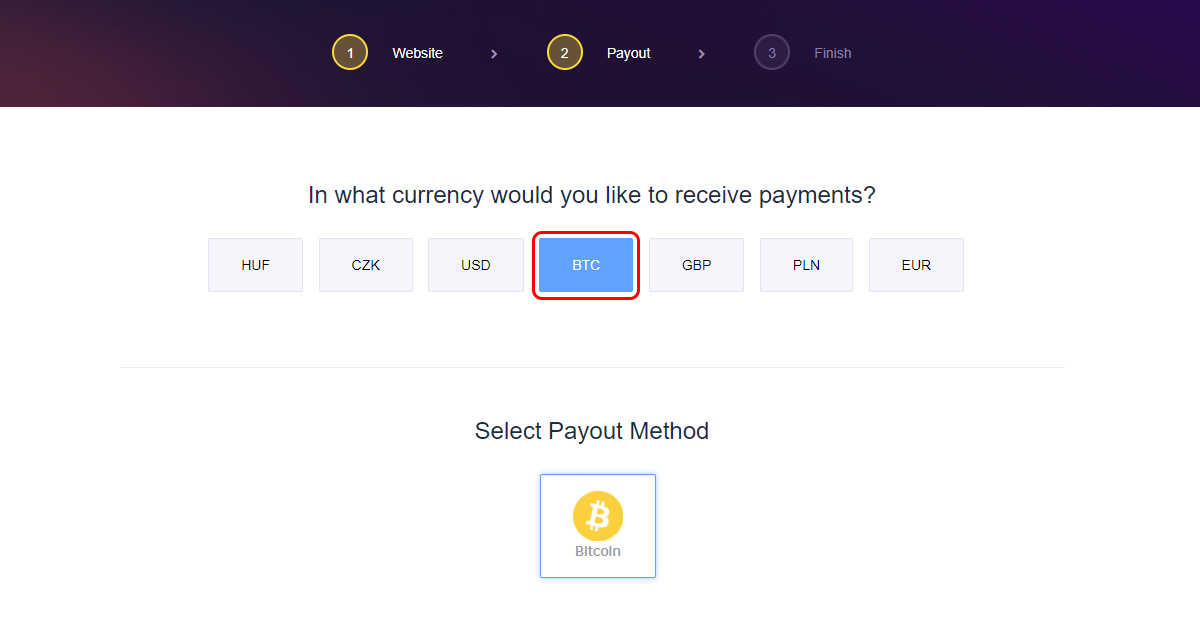 how to choose canadian bitcoin