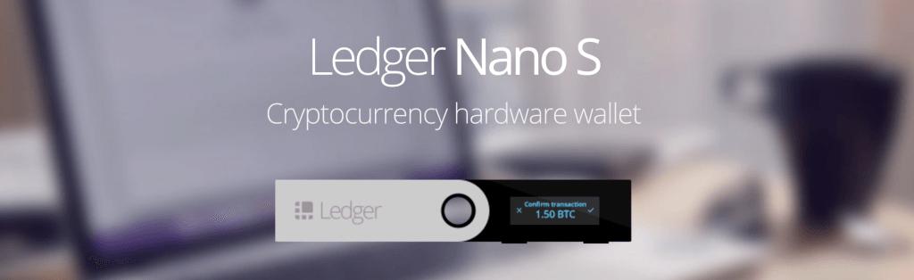 ledger nano s cryptocurrency