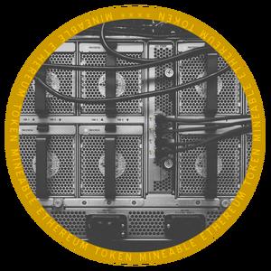 Logo Mineable Token