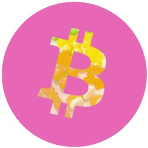 Logo Bitcoin Candy