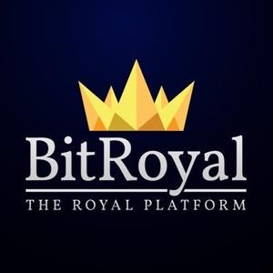 Logo Bitcoin Royal