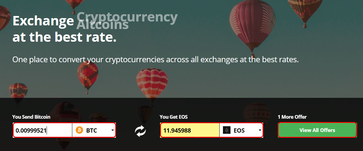 coinswitch cryptocurrency exchange rate