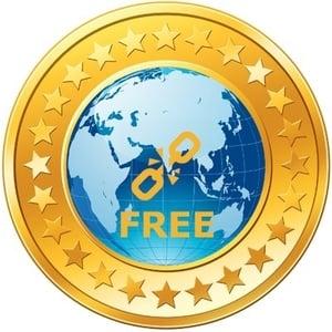 Logo FREE coin