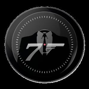 Logo 007 coin