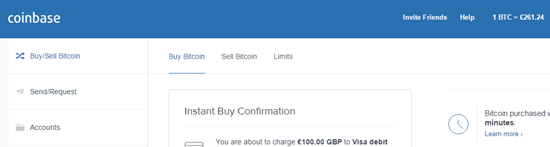 coinbase confirm bitcoin purchase