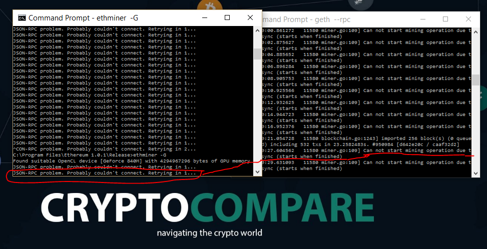 Ethereum mining with cpu