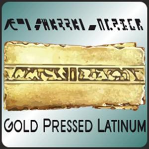 Logo Gold Pressed Latinum