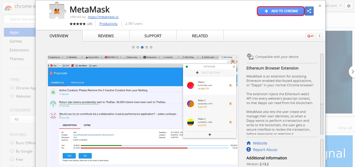 How to use MetaMask | CryptoCompare com