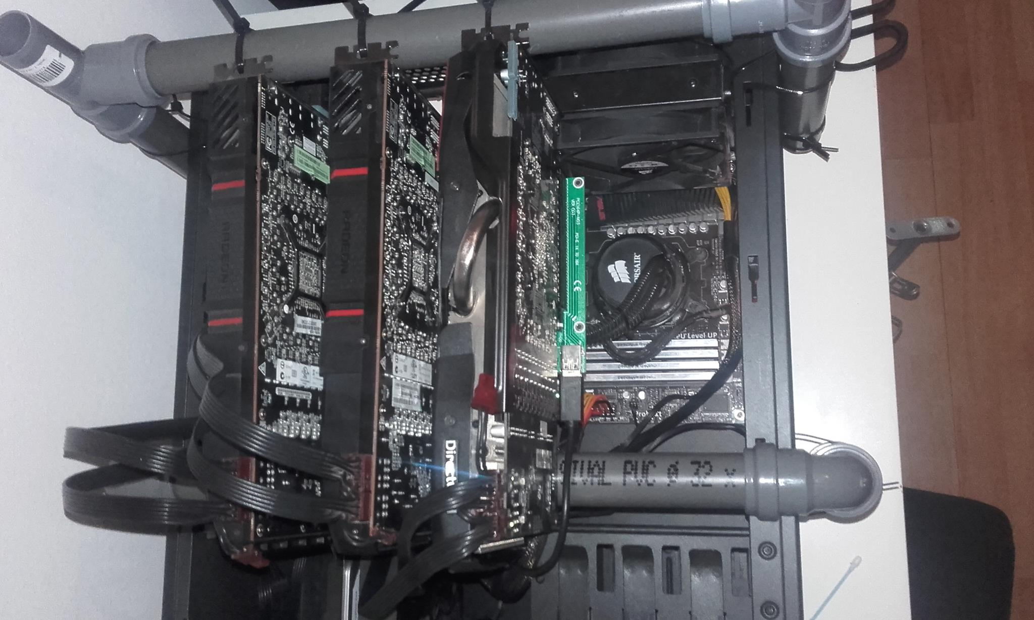 what do i need to build a cryptocurrency mining rig