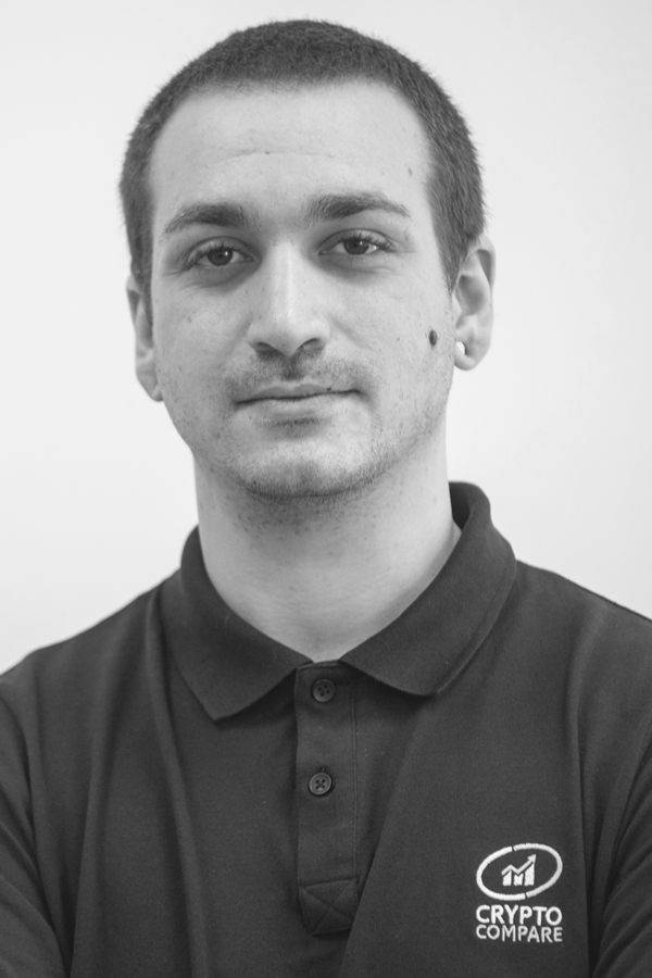 Antonio Madeira CryptoCompare Team