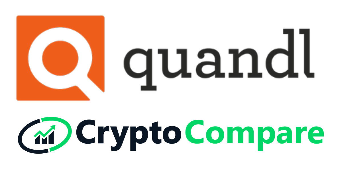 Quandl and CryptoCompare to Offer Institutions Access to Market